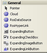 MetaWebBuilders ExpandingButtons Toolbar Icons